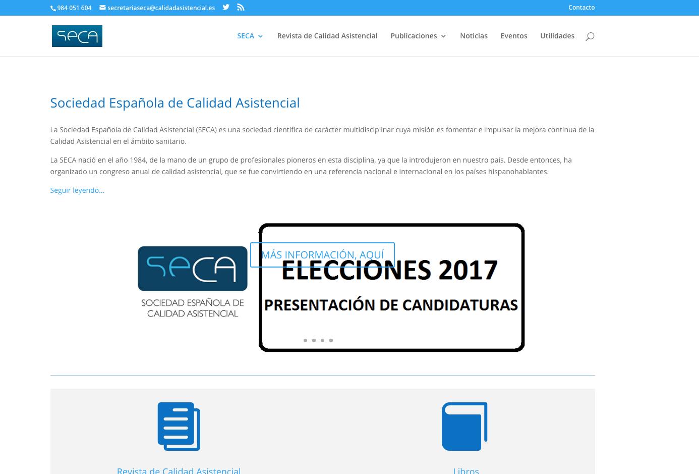 Web SECA